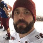 """Caruso, participante do """"BBB18"""", joga futebol americano no bairro da Mooca - Reprodução/Instagram"""