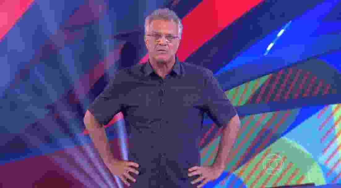 """22.fev.2016 - """"E este é mais um predão recordista. Ainda faltam 24 horas de votação e já passamos dos 38 milhões de votos"""" - Reprodução/TV Globo"""