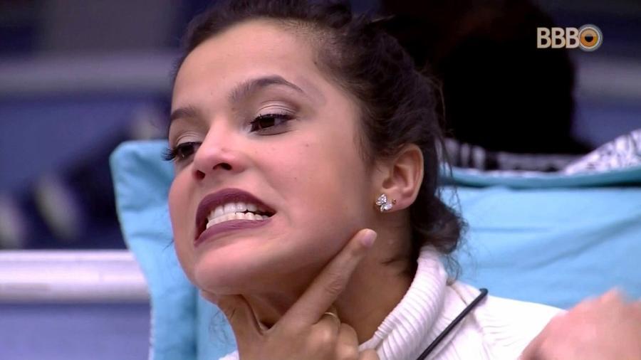 Emilly: surpresa depois que seis brothers a deixaram com a corda no pescoço - Reprodução/TV Globo