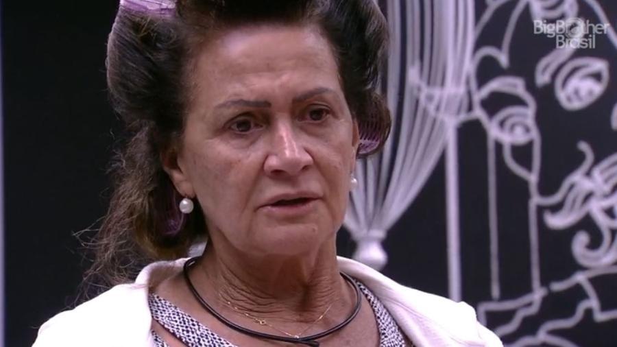 Ieda fica brava com bronca sobre torneira - Reprodução/TV Globo