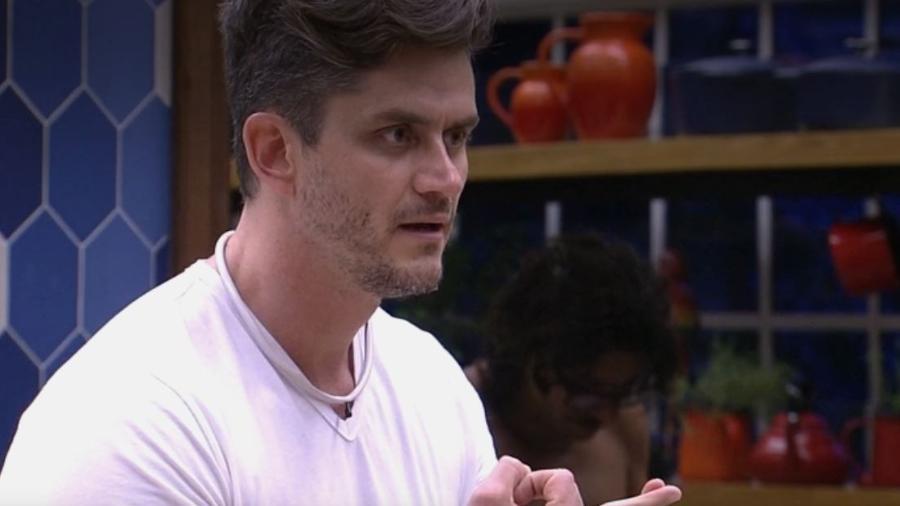 Marcos fala sobre Daniel e Marinalva - Reprodução/TV Globo