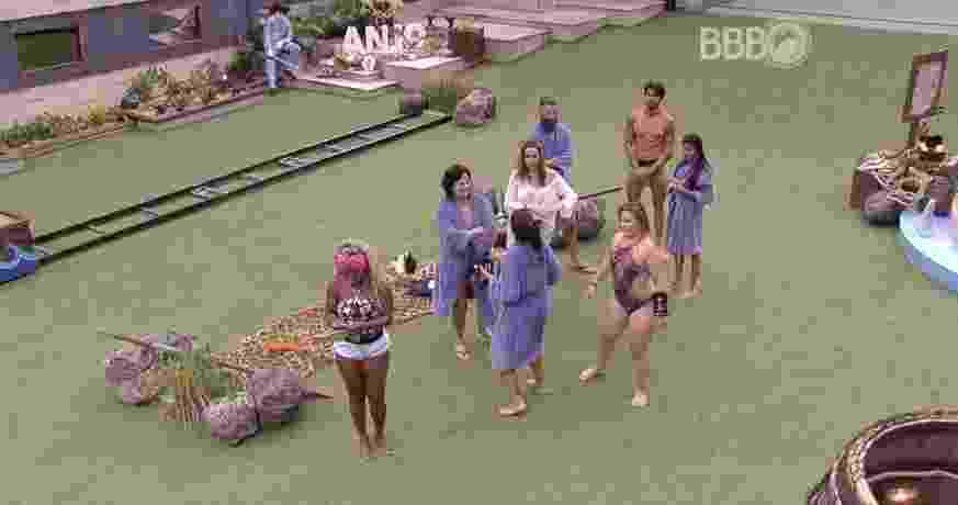 Adélia, Maria Claudia, Harumi e Juliana vencem a primeira prova do anjo - Reprodução/ TV Globo