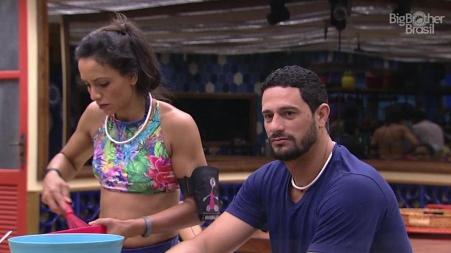 """08.02.2017 - Daniel, participante do """"BBB17"""" - Reprodução/Tv Globo"""