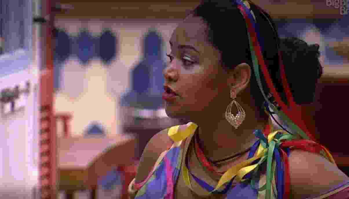 Elis diz que Emilly está ameaçada na casa - Reprodução/TV Globo