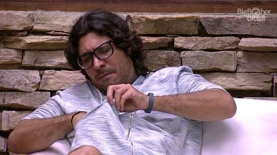"""Ilmar criticou a postura de Elis no """"BBB17"""" - Reprodução/TV Globo"""