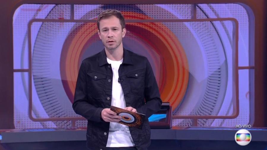 """Tiago Leifert anuncia novidades para o nono paredão do """"BBB17"""" - Reprodução/TVGlobo"""