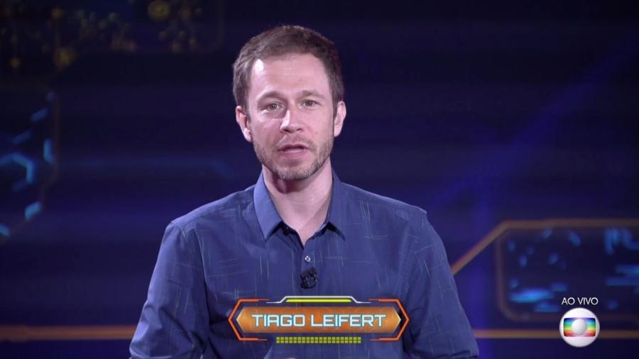 Tiago Leifert anuncia como será a formação do terceiro paredão  - Reprodução/TvGlobo