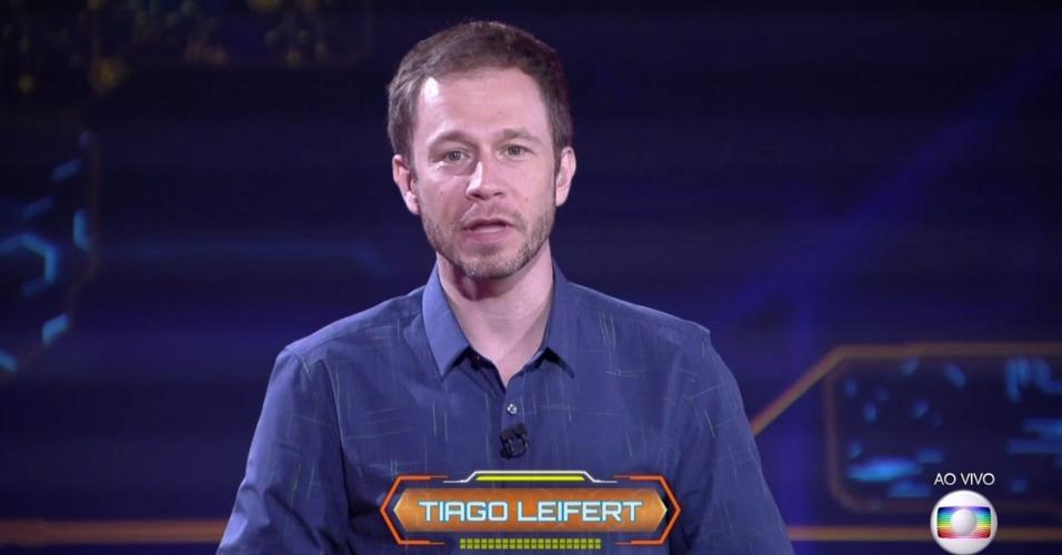 Tiago Leifert anuncia como será a formação do terceiro paredão