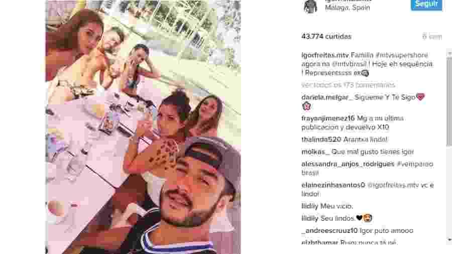 Igor Freitas fala sobre Elettra  - Reprodução/ Instagram