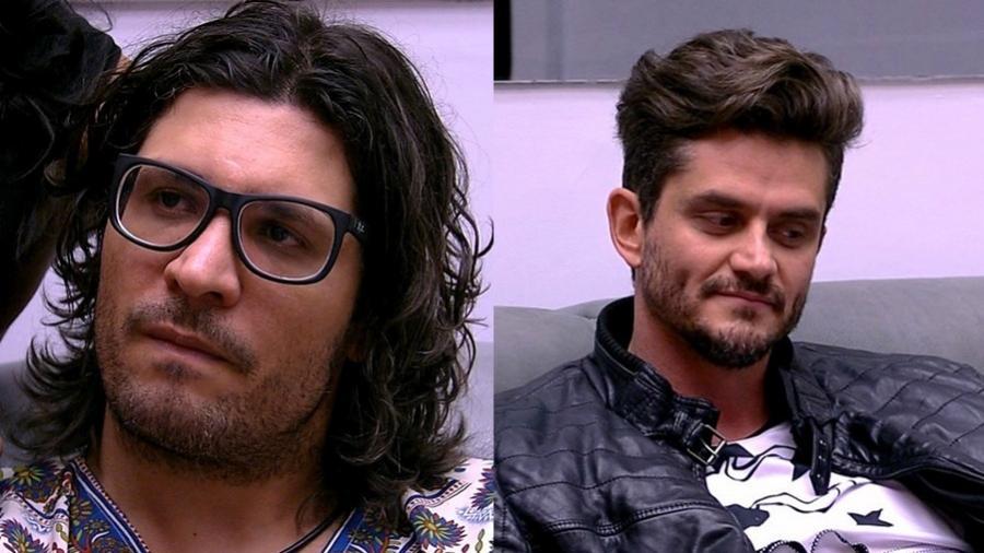 """Ilmar e Marcos formam o décimo paredão do """"BBB17"""" - Reprodução/TV Globo"""