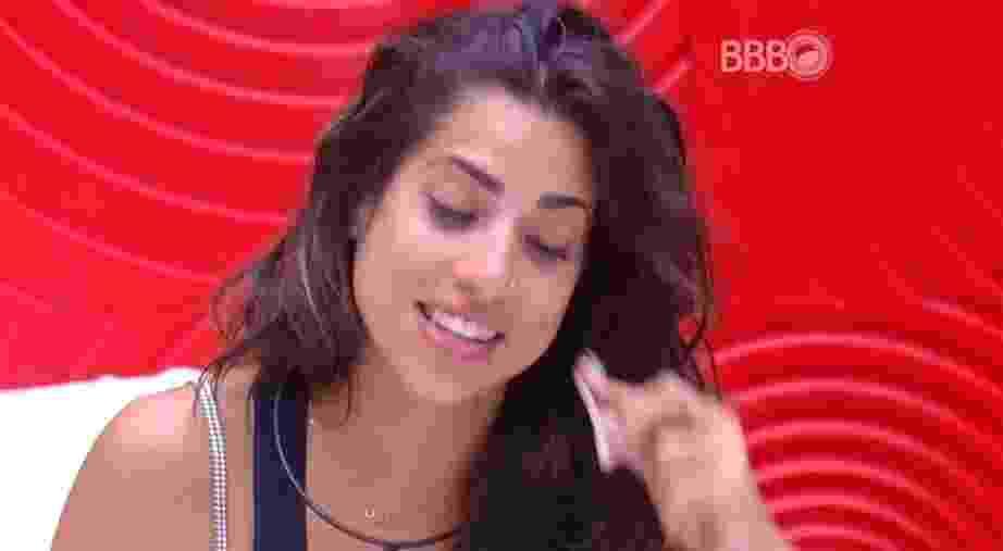 """11.fev.2016 - Juliana lamenta a volta de Ana Paula, no """"BBB16"""". """"Adianta ser líder?"""", questionou a sister - Reprodução/TV Globo"""