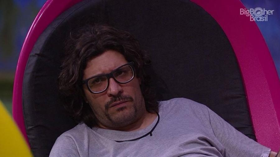 Ilmar acha que Rômulo é o grande manipulador do jogo - Reprodução/TV Globo