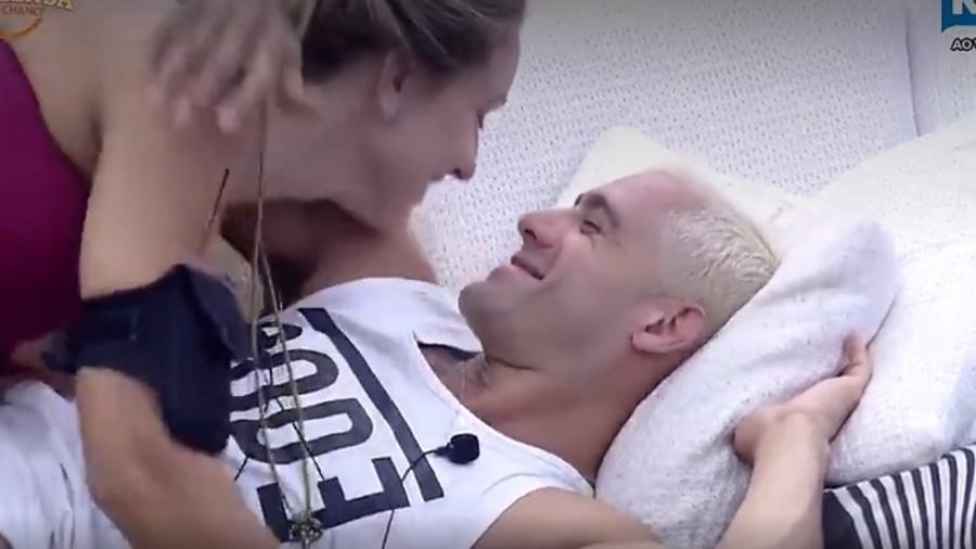 """Monick e Yuri em """"A Fazenda: Nova Chance"""" - Reprodução/R7"""