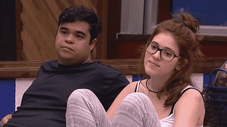 """Família Lima já se sente ameaçada para a primeira formação de paredão do """"BBB18"""" - Reprodução/Globoplay"""