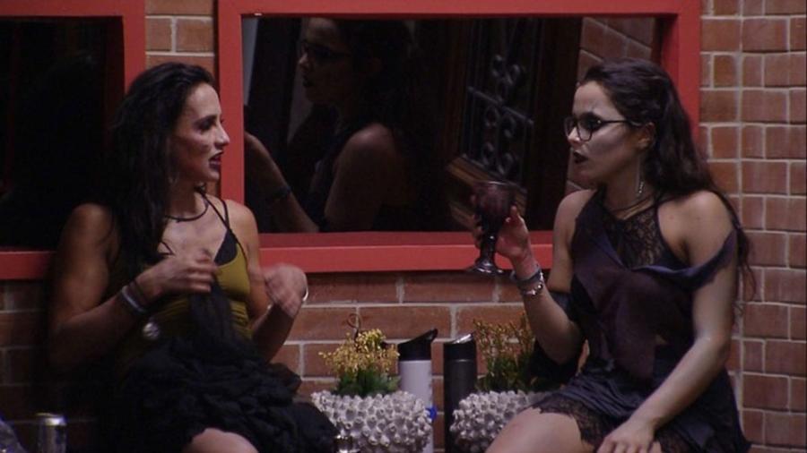 Emilly reclama de Marcos - Reprodução/TV Globo