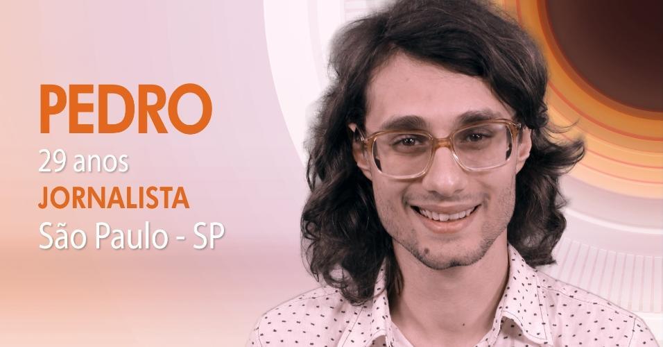 """Pedro Falcão, 29, é um dos participantes do """"BBB17"""""""