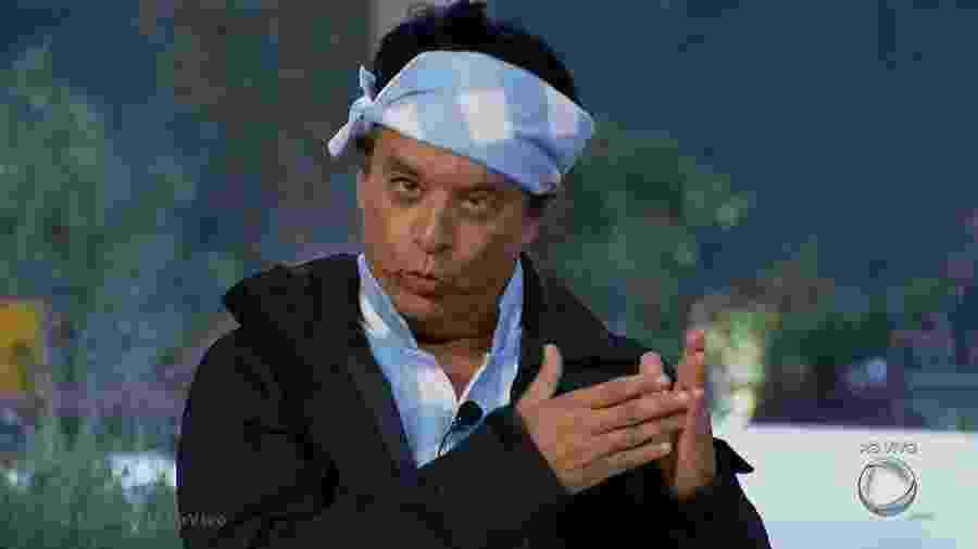 Nahim se justifica após formação da quinta roça  - Reprodução/R7