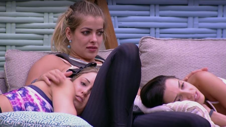 Jaqueline, Jéssica e Paula falam sobre amizade - Reprodução/Globoplay