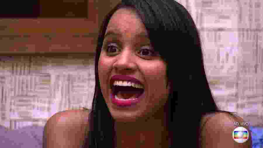 """Gleici, a grande vencedora do """"BBB18""""; reality da Globo foi o programa de TV no Brasil mais buscado no Google - Reprodução/TvGlobo"""