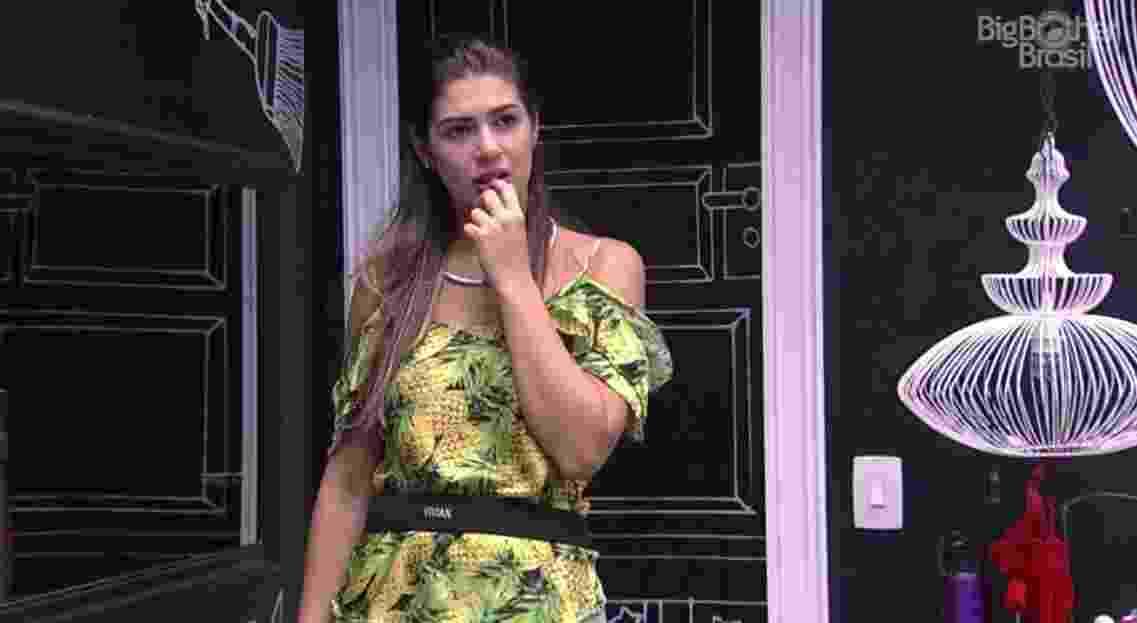 Vivian diz que mudou de opinião a respeito de Marcos - Reprodução/ TV Globo