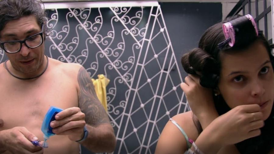 Ilmar dá bronca em Emilly - Reprodução/TV Globo