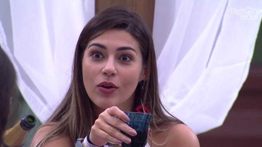 """Vivian fala sobre Antônio no """"Gran Hermano"""": """"Imagina a bagunça que eles fizeram lá"""" - Reprodução/TV Globo"""