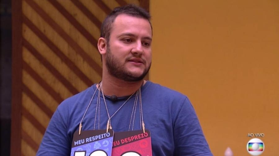 Diego no jogo da discórdia - Reprodução/Globoplay