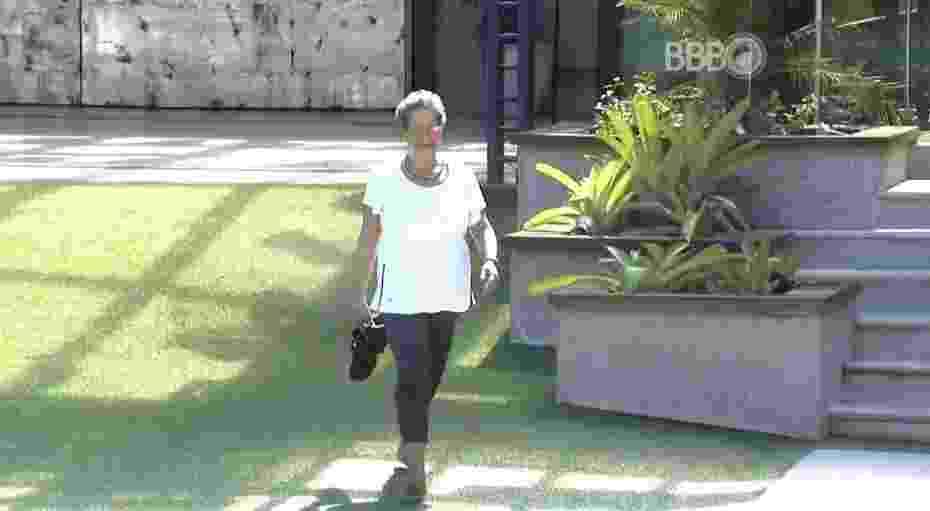 18.mar.2016 - Geralda é desclassificada na prova do líder e deixa a disputa entre Matheus e Maria Claudia - Reprodução/TV Globo