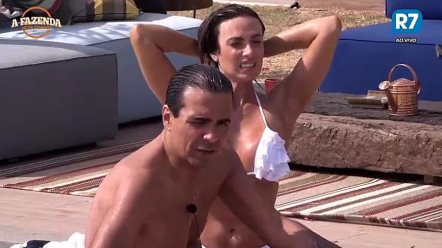 Fábio Arruda comenta seu relacionamento com Marcelo Ié Ié - Reprodução/R7