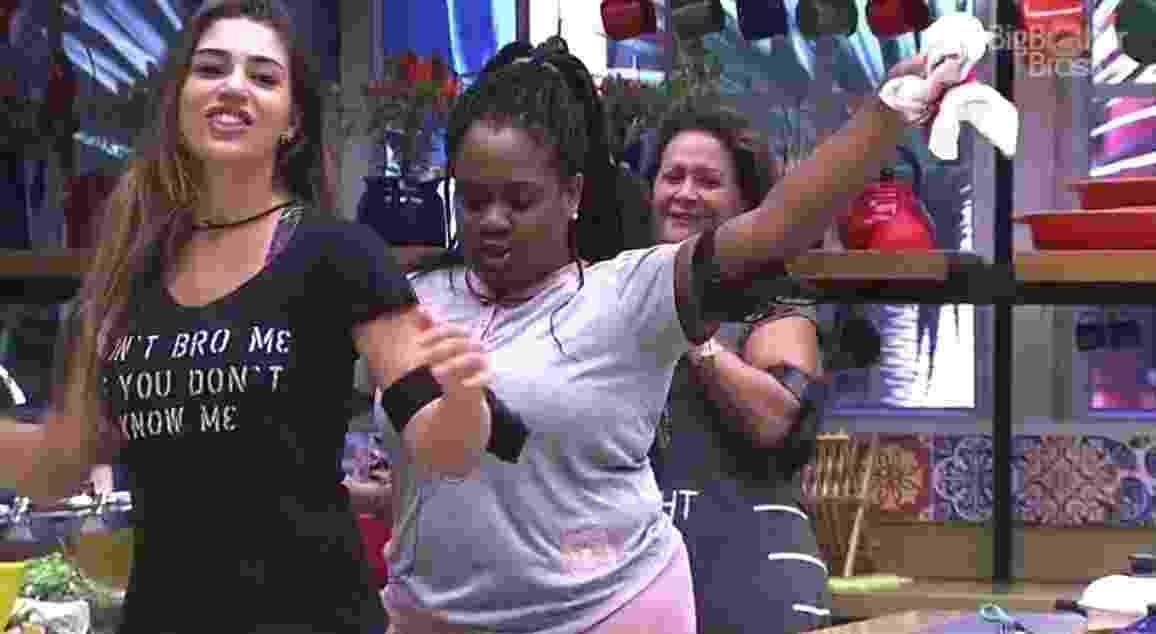 Sisters cantam e dançam na cozinha - Reprodução/TV Globo