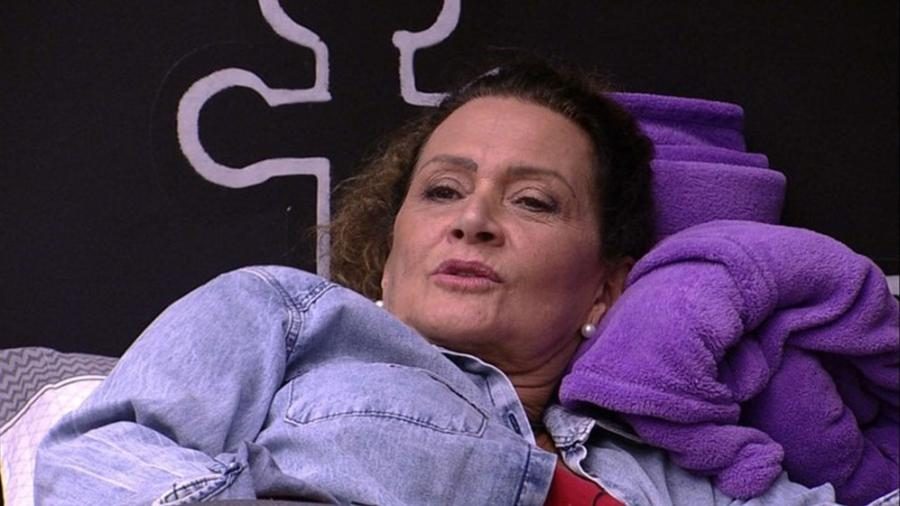 """""""Sou fortíssima"""", afirmou Ieda - Reprodução/TV Globo"""