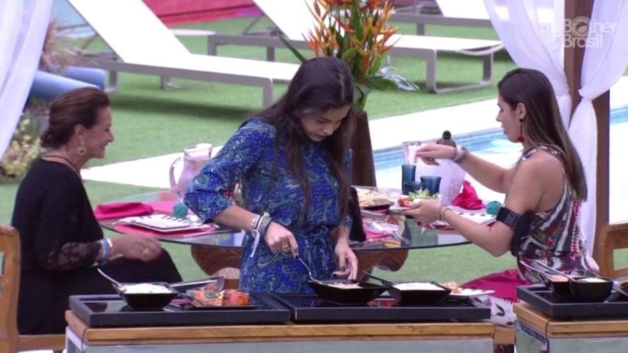Sisters ganham almoço especial - Reprodução/TV Globo