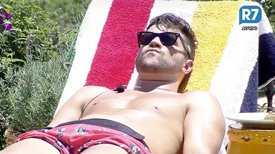 Marcelo Ié Ié diz que não pedirá desculpas para Matheus Lisboa - Reprodução/R7