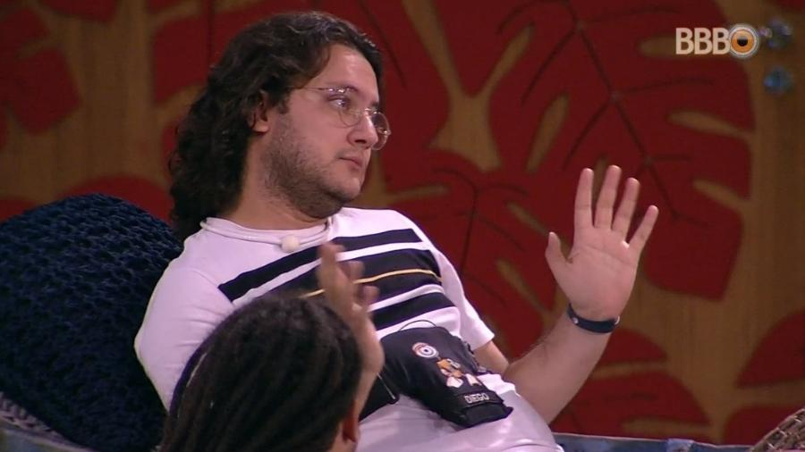 Diego fala mal de Wagner para Patrícia e Diego - Reprodução/Globoplay