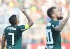 Palmeiras bate Internacional no Pacaembu e volta a vencer após 3 jogos - (Foto: Cesar Greco/Ag Palmeiras/Divulgação)