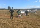 Avião com 500kg de cocaína é interceptado em Goiás - FAB/Twitter