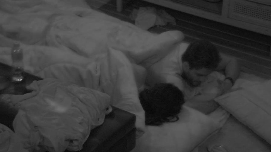 Marcos afirmou que Emilly está destruindo a relação dos dois - Reprodução/TV Globo