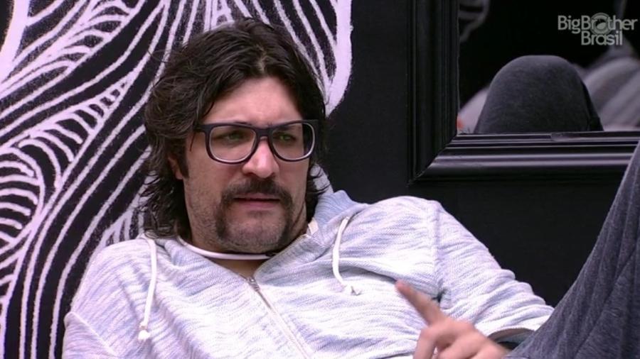 Ilmar diz que Pedro é o mais estrategista da casa - Reprodução/TV Globo