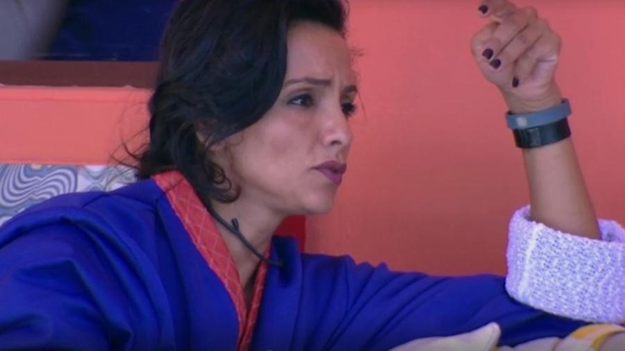 Marinalva critica postura dos colegas diante do paredão - Reprodução/TVGlobo