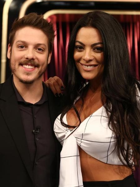 "Monique Amin participa do ""Programa do Porchat"" - Antonio Chahestian/Record TV"
