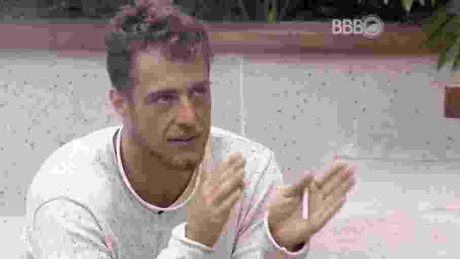"""11.fev.2016 - No """"BBB16"""", Daniel fala com Juliana e Renan sobre a volta de Ana Paula - Reprodução/TV Globo"""