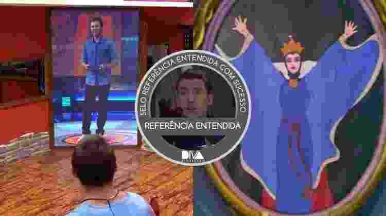 Diva BBB 2 - Reprodução/TV Globo e Arte/Diva Depressão - Reprodução/TV Globo e Arte/Diva Depressão