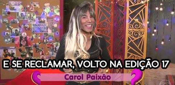 Diva Depressão: Carol Paixão - Fotomontagem/Diva Depressão - Fotomontagem/Diva Depressão