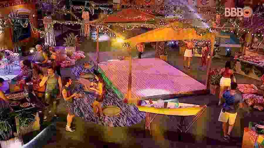 """""""BBB17"""" tem Festa Amazônia - Reprodução/TV Globo"""
