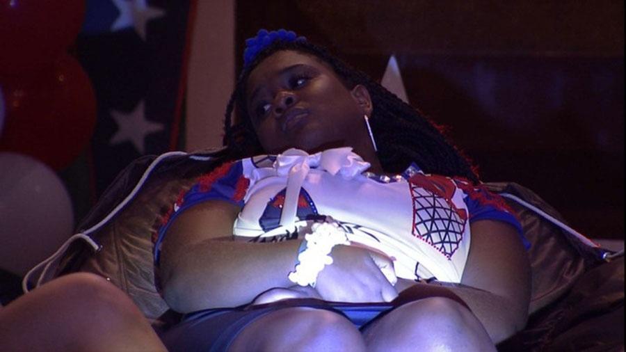 Roberta: apostando na força de Vivian para derrubar Emilly - Reprodução/TVGlobo