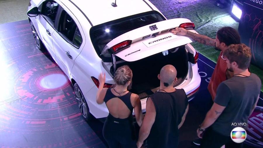 Brothers participam da décima prova do líder  - Reprodução/TvGlobo