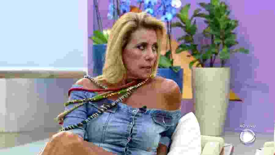 """Rita Cadillac falou sobre Marcos Harter no """"Hoje em Dia"""" - Reprodução/Record"""