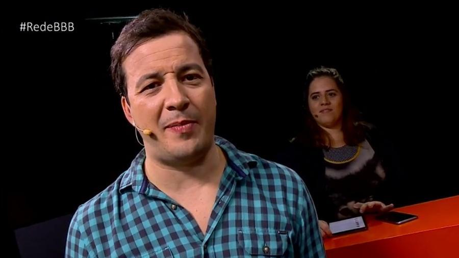 Rafael Cortez defende Marinalva durante programa Rede BBB - Reprodução/GloboPlay