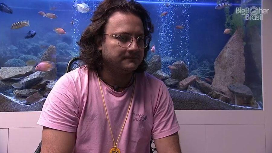 Diego fala do paredão no confessionário - Reprodução/GloboPlay