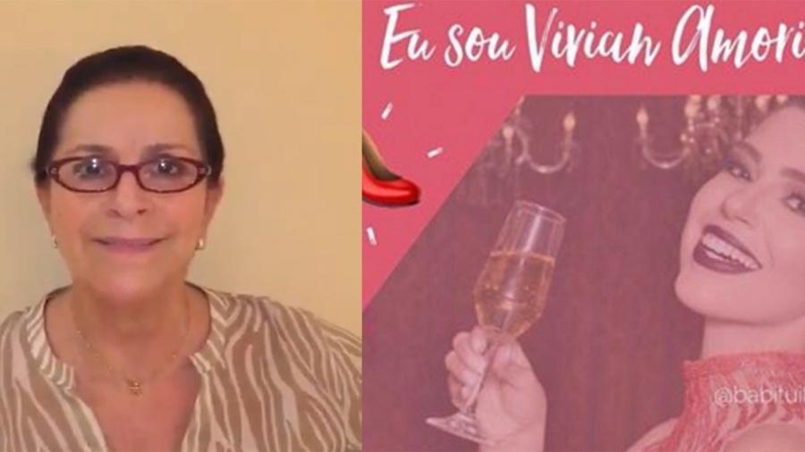 """Enilda, mãe de Marcos, faz campanha para Vivian ganhar o """"BBB17"""" -"""
